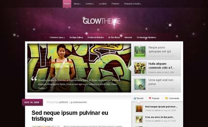 Best WordPress Themes Of The Year - 2011