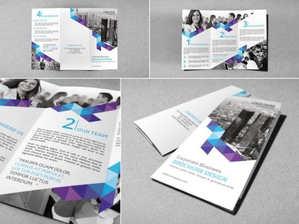 minimalist brochure