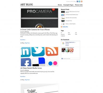 30 Of The Best Premium WordPress Themes – July 2011