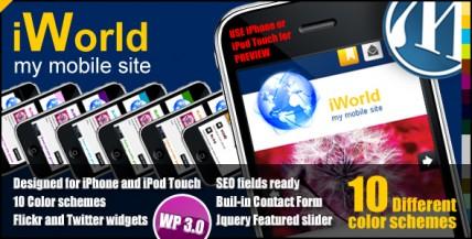 10 Popular Mobile WordPress Themes