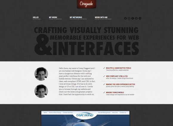 30 Examples Of Subtle Background Textures In Web Design