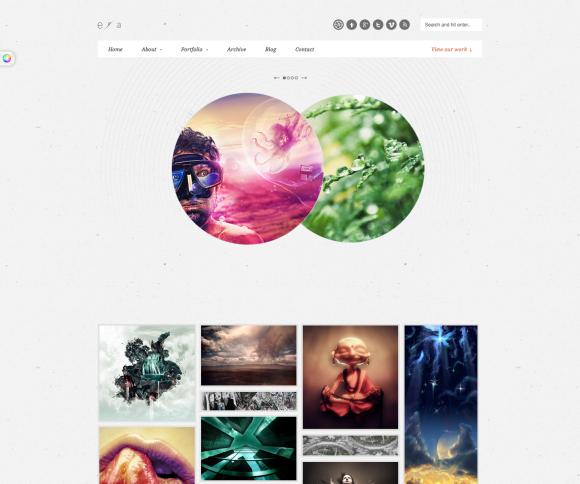 20 Quality WordPress Themes For Design Studios