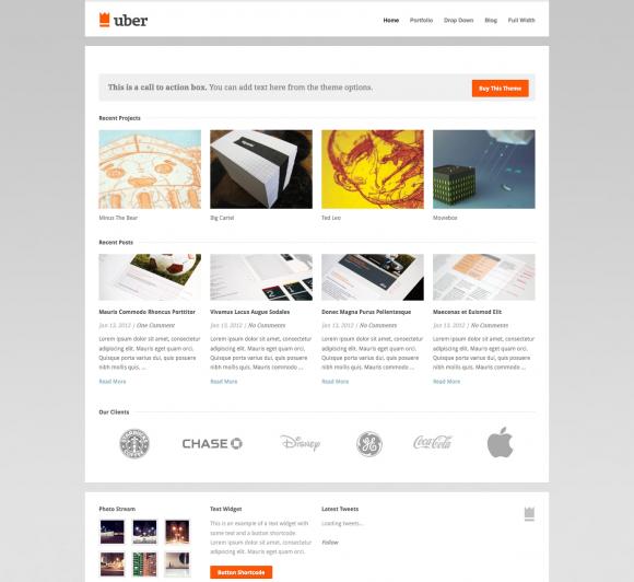 25 Blogfolio WordPress Themes
