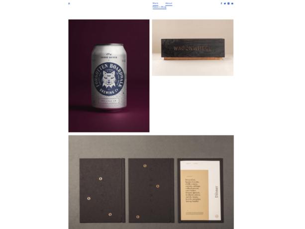 minimalist portfolio websites