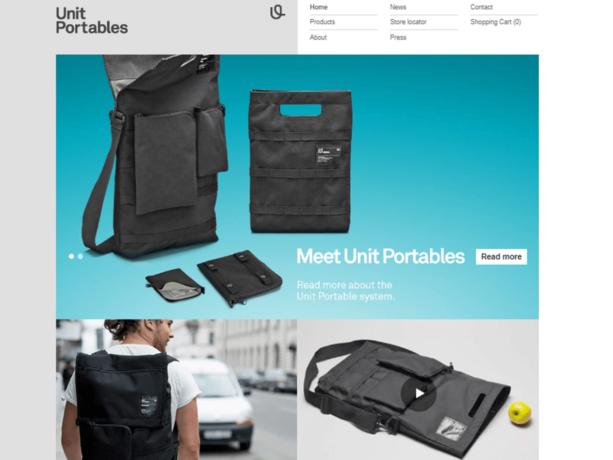 unit portables portfolio