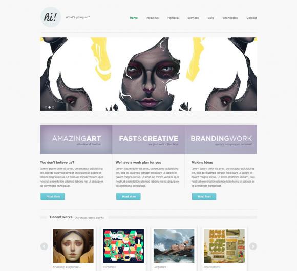 20 Responsive WordPress Portfolio Themes