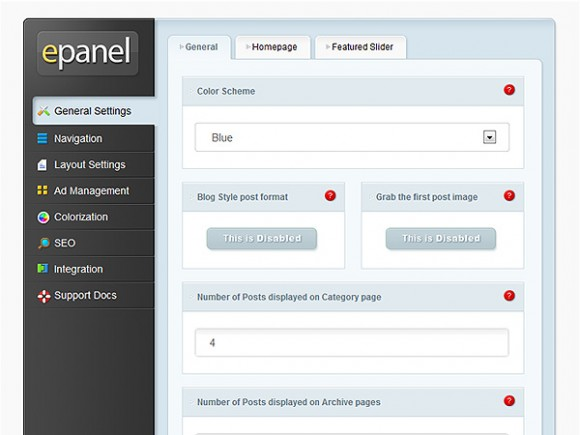 Tutorials & Resources For Creating A WordPress Options Panel