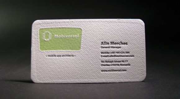 Business Card Inspiration: May 2012