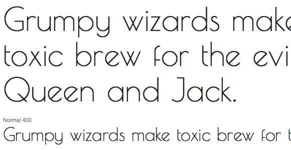 25 Hand Picked Sans-Serif Google Fonts