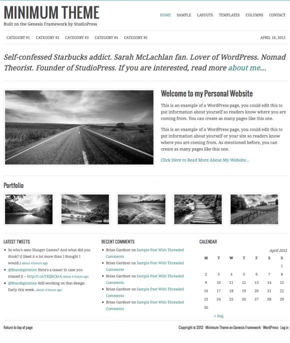 20 Pixel Perfect WordPress Gallery Themes