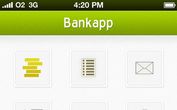 Design an iPhone Bank App in Photoshop