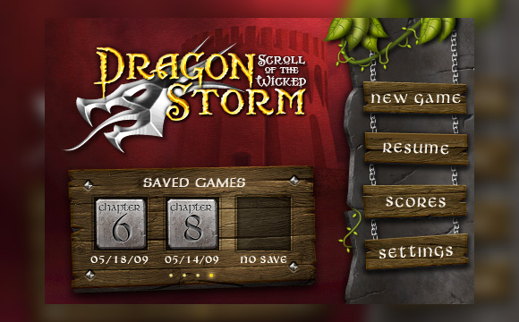 How to Make a Menu Interface for a Fantasy Themed iPhone Game