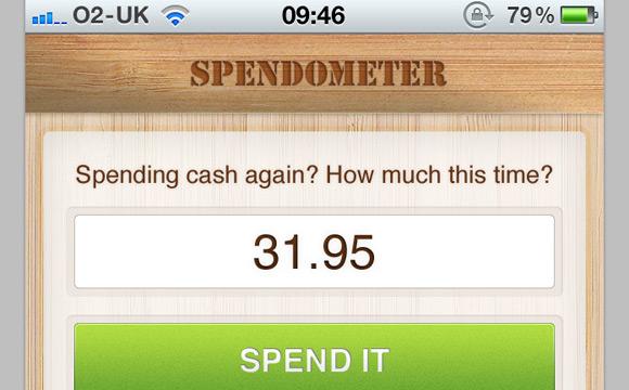 Mobile UI: Redesign the Spendometer iPhone App