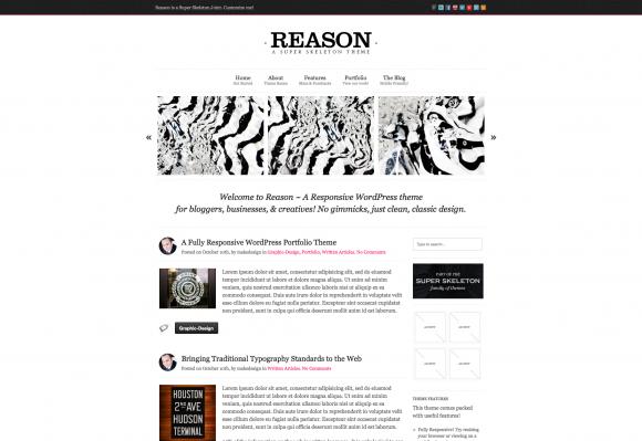 20 New Minimalist WordPress Themes