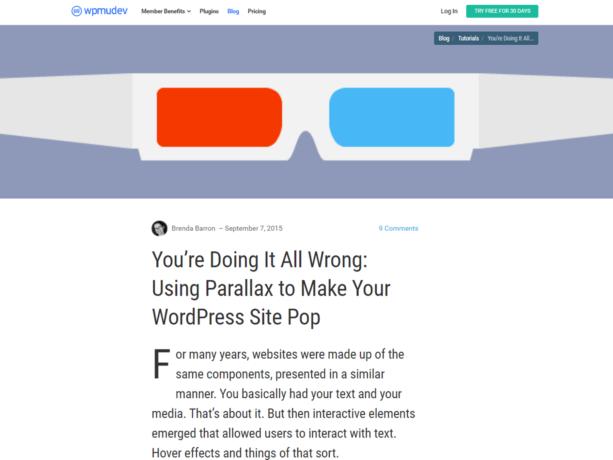 parallax scrolling tutorial