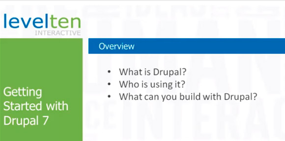 Getting Started with Drupal 7 Tutorials