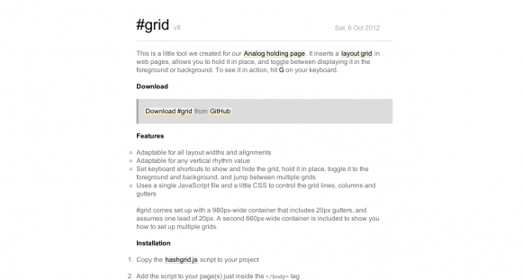 #grid