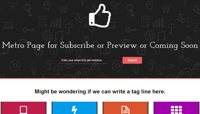 metro page bootstrap guru responsive template