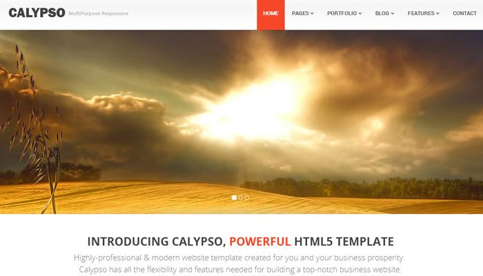 calypso multipurpose bootstrap template premium