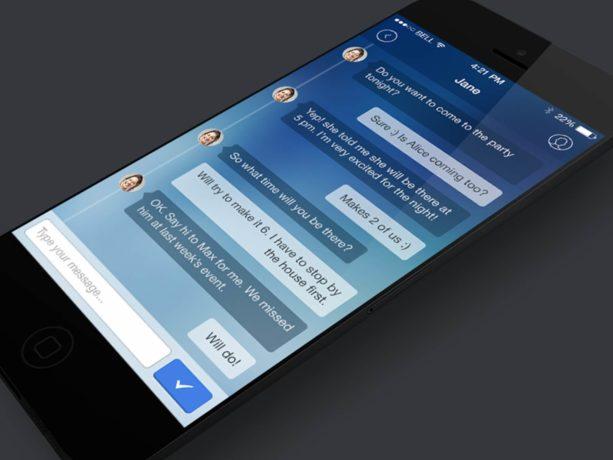 ios app ui design