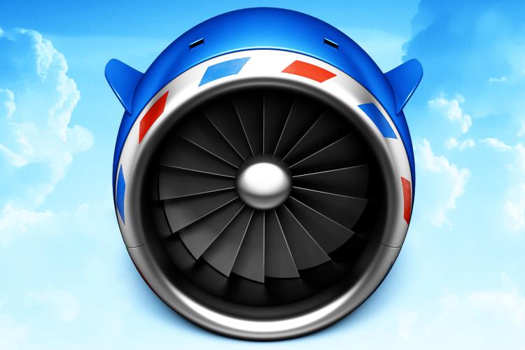 turbine mac osx app icon design