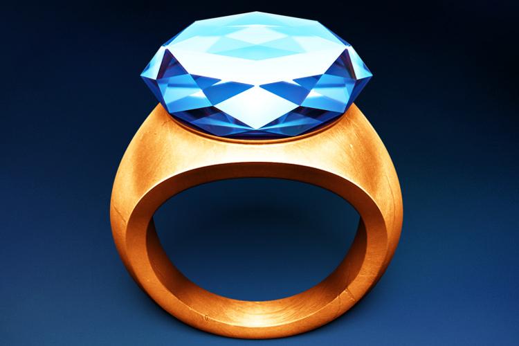 schwartz diamong ring osx app icon