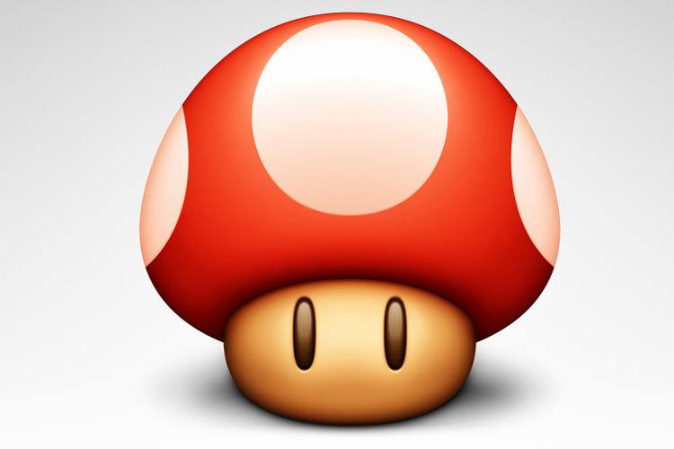 mushroom icon design osx app concept