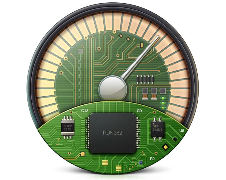 speedup app icon gears internals tech osx