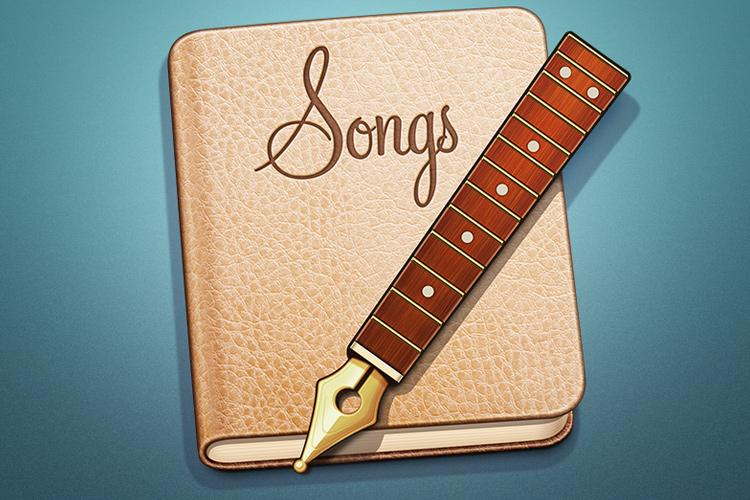 songs app osx icon design example