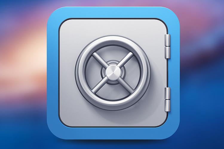 silverlock icon design vault door