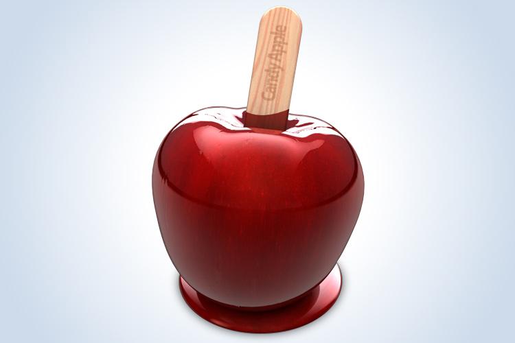 candy apple icon design mac osx