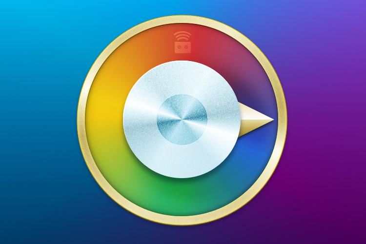 color picker wheel mac osx icon