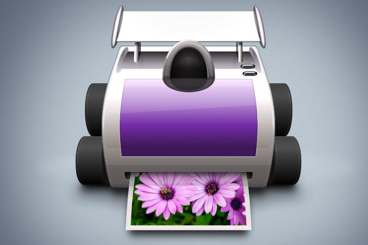quick print printer mac osx app icon