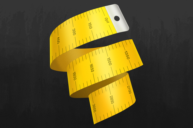 easyres resolution yellow measuring tape app icon