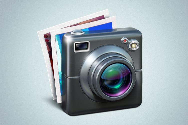 mac osx iphoto camera redesign icon