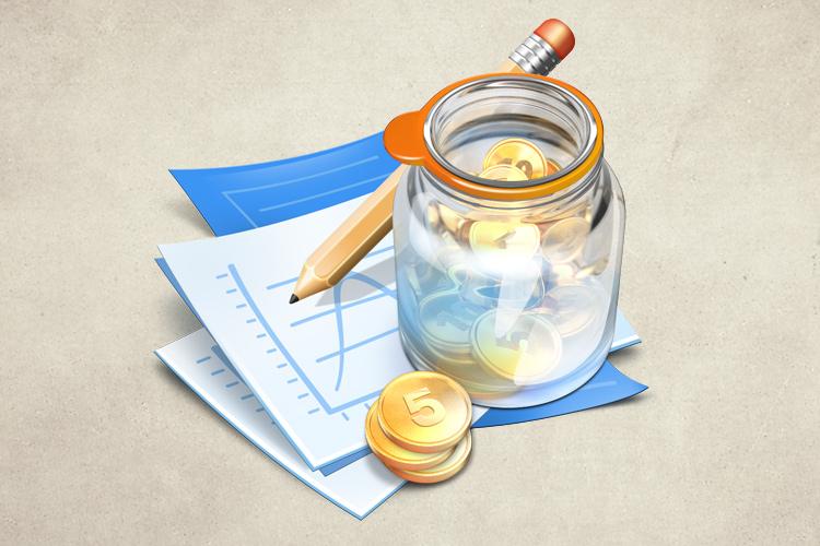 inspire finance mac osx app icon money