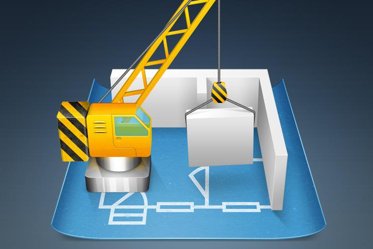 blueprint construction mac osx app icon