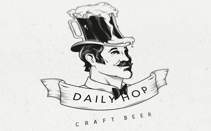 beer craft logo daily hop inspiration
