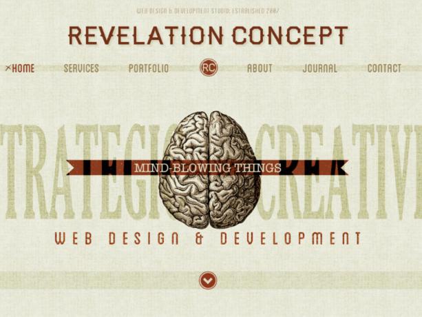 retro style websites