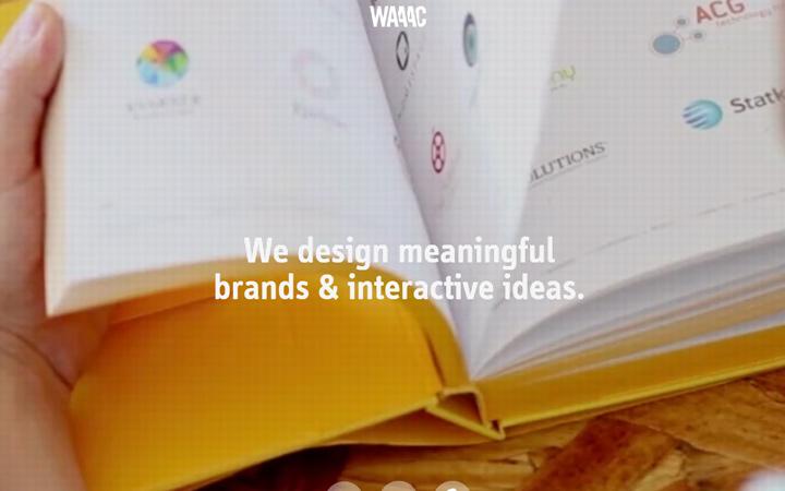 waaac agency studio branding design