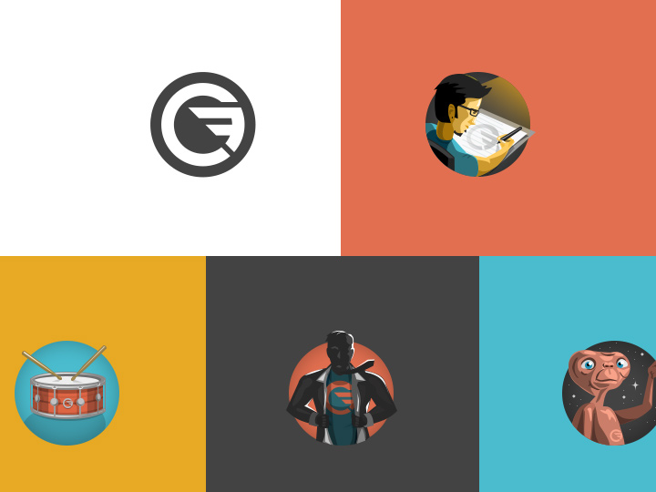 personal website icons pack color