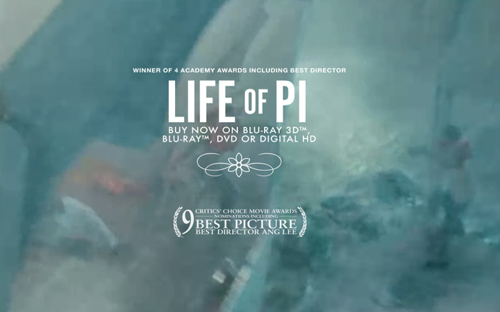 life of pi movie homepage video background