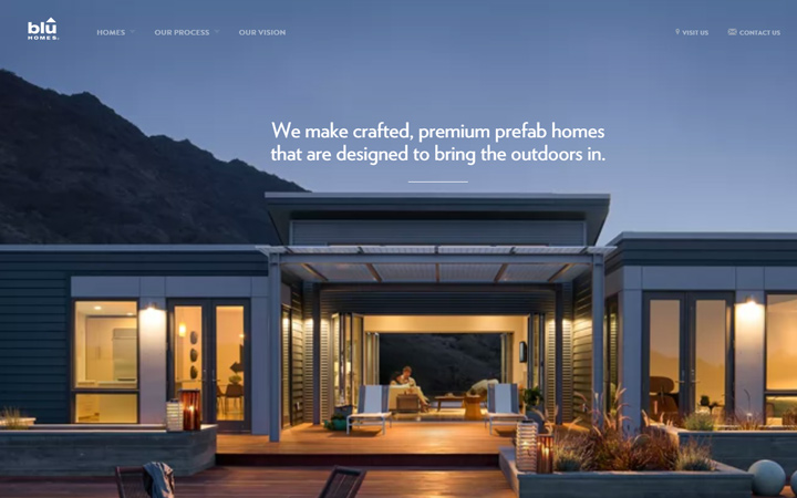 blu homes architecture agency video