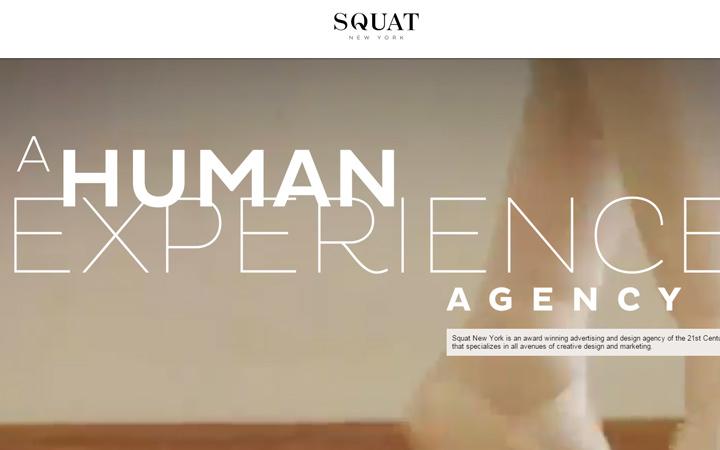 squat new york agency creative design