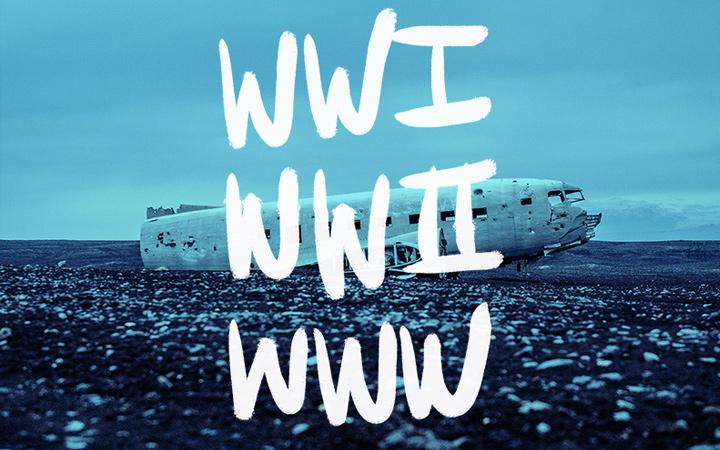 wwii wwi world wide web typography