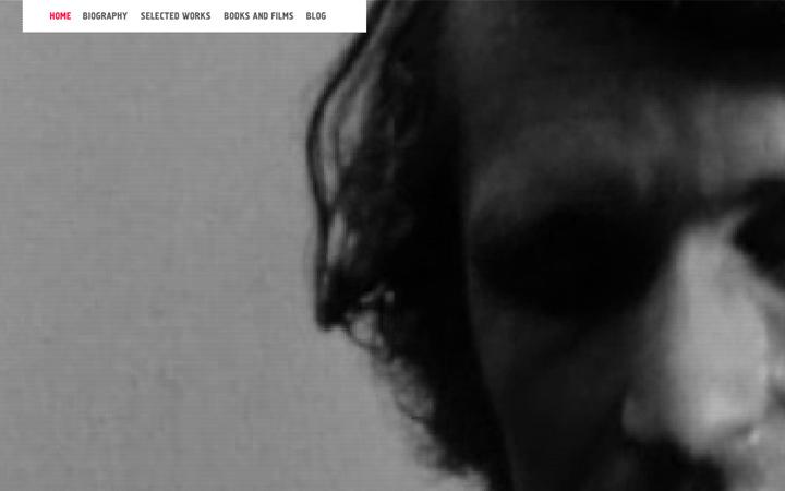 bas jan ader website design video background