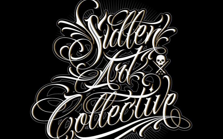 sullen art collective typography scripting