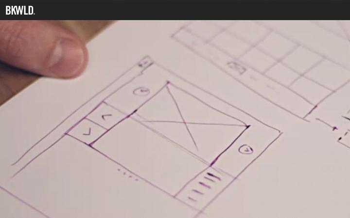 bkwld creative design agency video background