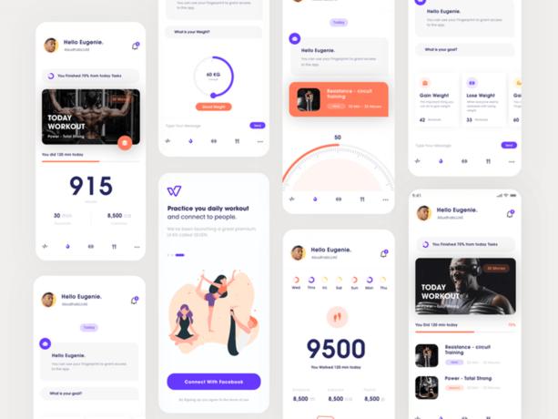 minimalist app design