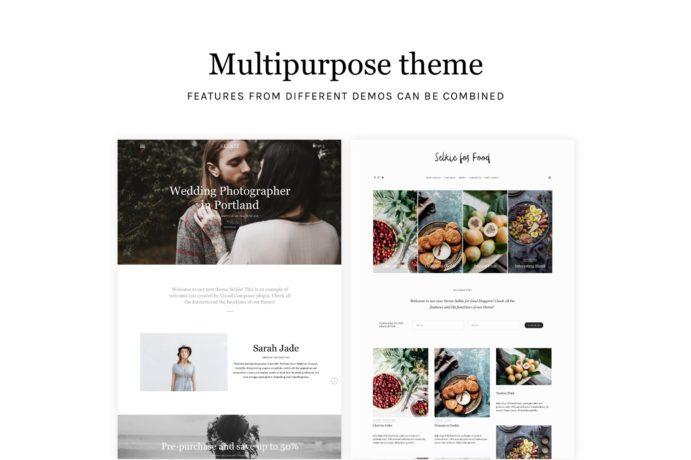 wordpress theme portfolio